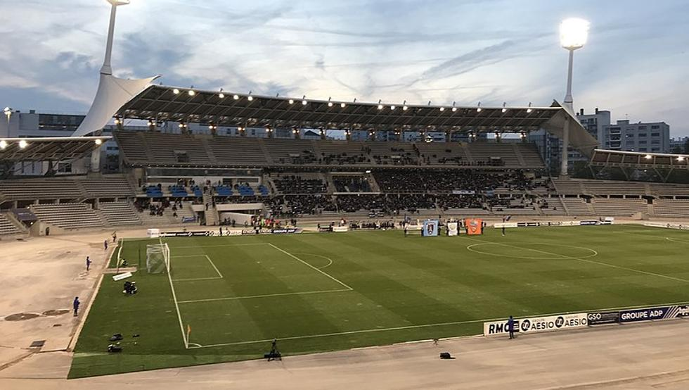 El estadio Charlety era la sede de los Europeos 2020 de París de atletismo (Z. Faibis)